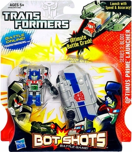 Transformers Bot Shots Battle Game Series 1 BL001 Optimus Prime Launcher