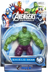 Marvel Avengers Assemble SHIELD GEAR Action Figure Gamme Fist Hulk New!
