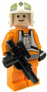 LEGO Star Wars LOOSE Mini Figure Y-Wing Pilot with Blaster