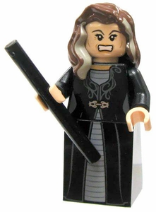 LEGO Harry Potter LOOSE Mini Figure Narcissa Malfoy with Black Wand