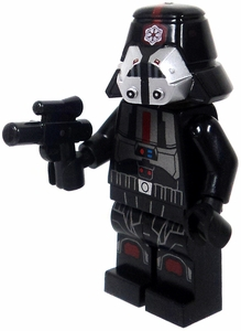 LEGO Star Wars LOOSE Mini Figure Sith Trooper in Black Uniform with Blaster Pistol