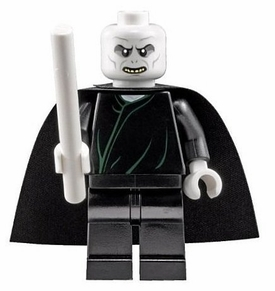 LEGO Harry Potter LOOSE Mini Figure Lord Voldemort with White Wand