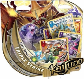 Kaijudo Trading Card Game Elite Series Triple Strike Premium Foil Deck