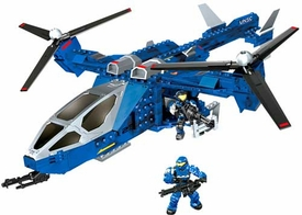 Halo Mega Bloks Set #97204 Blue Series Falcon