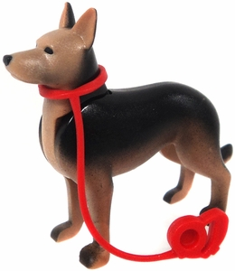 Playmobil LOOSE Animal German Shepard Dog with Leash