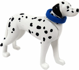 Playmobil LOOSE Animal Dalmatian Dog with Blue Collar