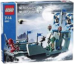 LEGO Knights Kingdom Set #8801 Knights' Attack Barge