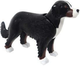 Playmobil LOOSE Animal Black & White Dog Standing