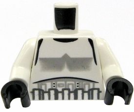 LEGO LOOSE Torso Stormtrooper Armor with Black Gloves BLOWOUT SALE!