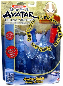 Avatar the Last Airbender Exclusive Action Figure 2-Pack Avatar Spirit Aang & Roku