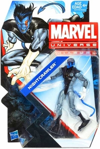 Marvel Universe 3 3/4 Inch Series 24 Action Figure X-Force Nightcrawler