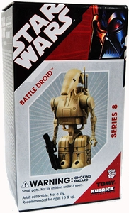 Star Wars Tomy Kubrick Series 8 Battle Droid