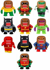 Funko Domo DC Set of 10 Basic Mystery Mini Vinyl Figures