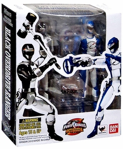 Power Rangers Operation Overdrive S.H. Figuarts Action Figure 2-Pack Blue & Black Overdrive Ranger