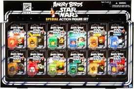 Angry Birds Star Wars SDCC 2013 San Diego Comic-Con Exclusive Vintage Figure Set