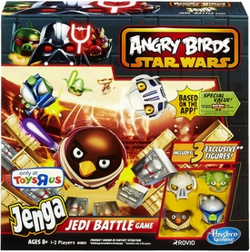 Angry Birds Star Wars Exclusive Jenga Jedi Battle Game