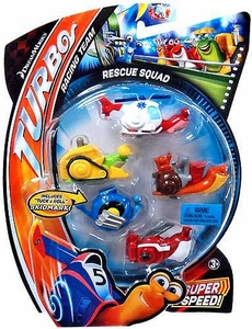 Turbo Movie Moments 5-Pack Rescue Squad [Includes Tuck & Roll Skidmark!]