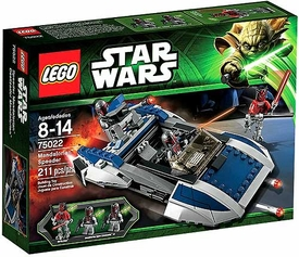 LEGO Star Wars Set #75022 Mandalorian Speeder