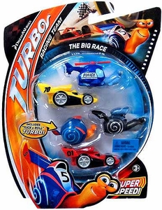 Turbo Movie Moments 5-Pack The Big Race [Includes Tuck & Roll Turbo!]