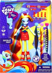 My Little Pony Equestria Girls Radical Hair Doll Rainbow Dash