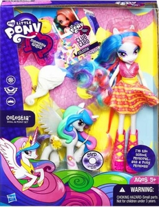 My Little Pony Equestria Girls Doll & Pony Set Celestia