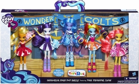My Little Pony Equestria Girls Doll 5-Pack Canterlot High Pep Rally Collection