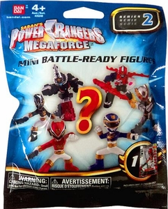 Power Rangers Megaforce Bandai Series 2 Mini Battle Ready Figure Mystery Pack