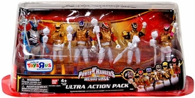 Power Rangers Megaforce Ultra Action Pack 6-Piece Action Figure Set Ultra Mode Power Rangers