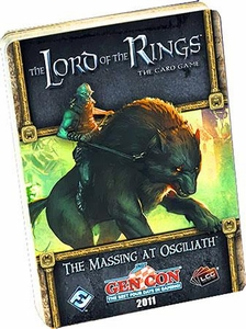 Lord of the Rings: The Massing at Osgiliath LCG Living Card Game Adventure Pack