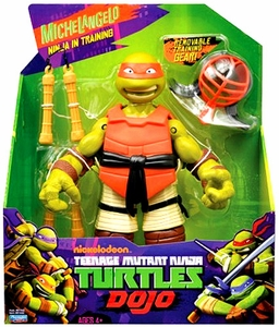 Nickelodeon Teenage Mutant Ninja Turtles 11 Inch Dojo Figure Michelangelo [Ninja in Training]