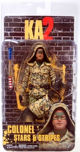 NECA Kick Ass 2 Series 2 Action Figure Stars & Stripes