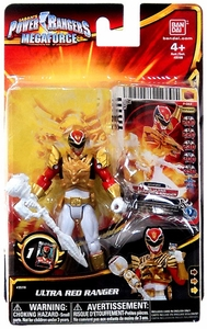 Power Rangers Megaforce Basic Action Figure Ultra Red Ranger