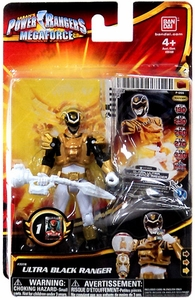 Power Rangers Megaforce Basic Action Figure Ultra Black Ranger