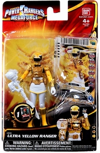 Power Rangers Megaforce Basic Action Figure Ultra Yellow Ranger