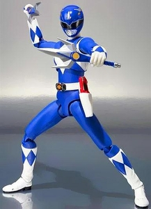Mighty Morphin Power Rangers S.H. Figuarts Action Figure Blue Ranger Pre-Order ships July