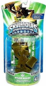 Skylanders Figure Pack FLOCKED Stump Smash NON-FUNCTIONING!