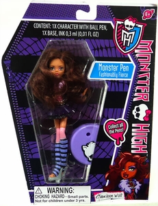 Monster High Monster Pen Clawdeen Wolf