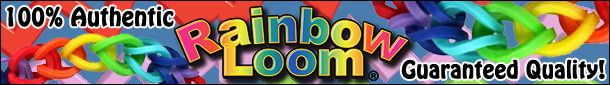 Rainbow Loom Official Starter Kit, Rubber Band Refill Packs & Accessories!
