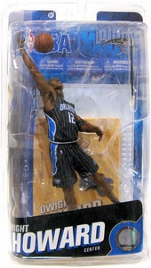 McFarlane Toys NBA Sports Picks Series 18 Action Figure Exclusive Dwight Howard [Black Jersey] (Orlando Magic)