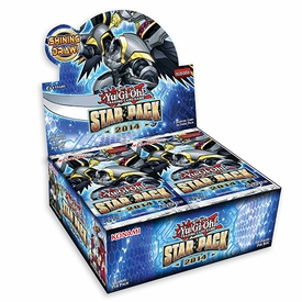 YuGiOh 2014 Star Pack 2 Booster BOX [50 Packs]