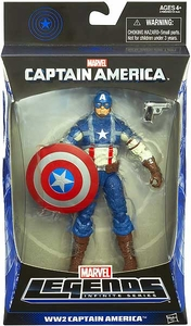 Captain America Marvel Legends Action Figure WW2 Captain America