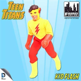 Teen Titans Retro 7 Inch Series 1 Action Figure Kid Flash Pre-Order ships April