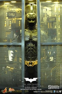 Batman Dark Knight Rises Hot Toys 1/6 Scale Collectible Figure Set Batman Armory & Batman Pre-Order ships October