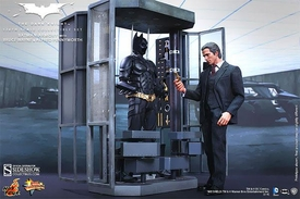 Batman Dark Knight Rises Hot Toys 1/6 Scale Collectible Figure Set Batman Armory, Bruce Wayne, Alfred & Batman Pre-Order ships October