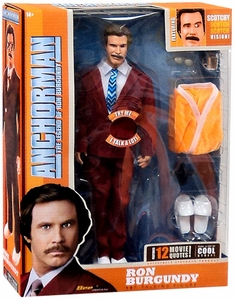 Anchorman 13 Inch Talking Figure Ron Burgundy