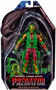 NECA Predator Movie Series 11 Action Figure Thermal Vision Dutch