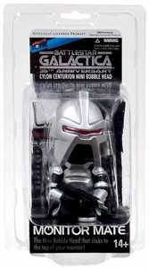 Biff Bang Pow! Battlestar Galactica 35th Anniversary Monitor Mate Mini Bobble Head Cylon Centurion