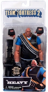 NECA Team Fortress 2 BLU Series 2 Action Figure Heavy [In Game Virtual Item Redemption Code!]