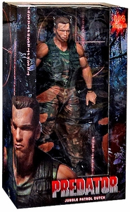 NECA Predator Quarter Scale Action Figure Jungle Patrol Dutch