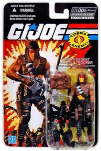 Hasbro GI Joe 2013 Subscription Exclusive Action Figure Cobra Desert Scorpion